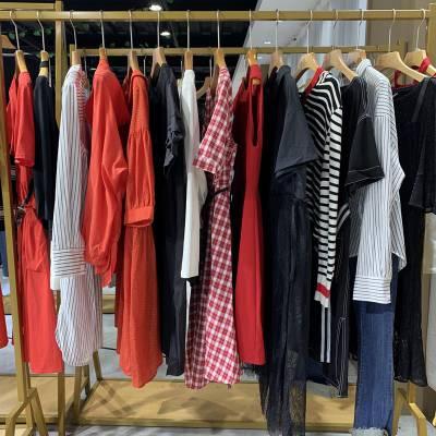 我爱香港20春装定制品牌折扣女装尾货一手货源批发淘宝直播女装货源