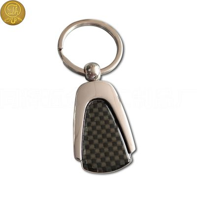 厂家定制金属钥匙扣 滴胶金属质感高端钥匙扣 来图稿设计定做