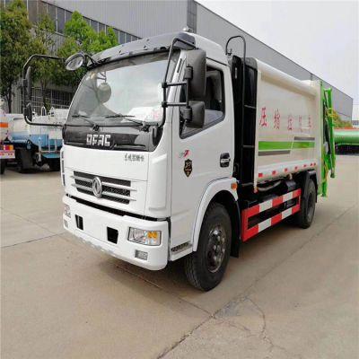 国六东风天锦10方压缩式垃圾车价格10吨垃圾压缩车