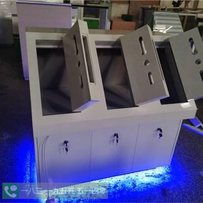 四川成都安居邦智能锁展示柜批发厂家智家人圆形展示架