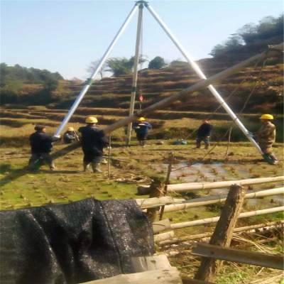 人工立杆工具 12米立杆机 铝合金立杆机 独角扒杆