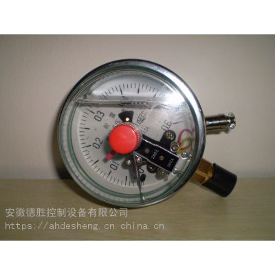 德胜YNXC-150ZT轴向带前边耐震电接点压力表φ150量程0-0.1MPa超值的