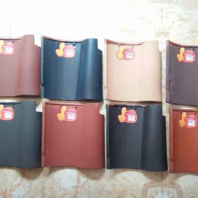 山东博冠瓦业三曲瓦红瓦屋面全瓷瓦陶瓷石板瓦价格