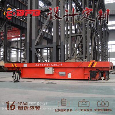 湖北17吨低压电动轨道车 废钢搬运车 河南新乡平板车行业NO.1