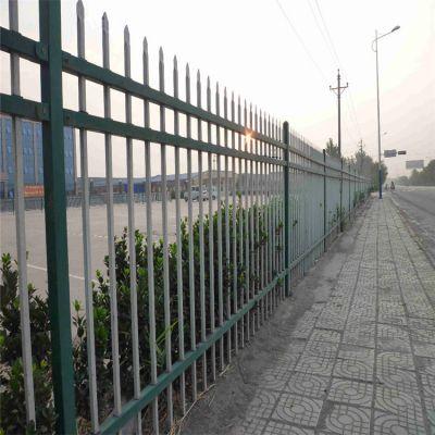 庭院围墙锌钢护栏 铁艺护栏网 学校围墙安全防护栏
