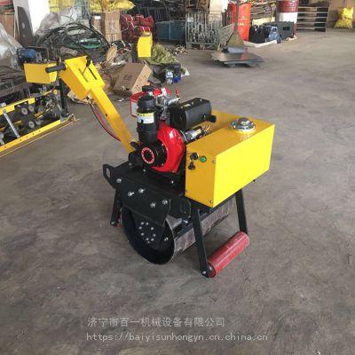 全国配送汽油单轮压路机厂家 小型振动压路机