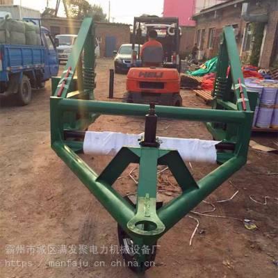10吨电缆盘拖车 电缆线盘拖车 大型电缆盘放线车价格 满发聚直销
