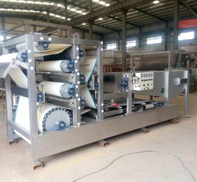 蓝海环境好品质-印染厂带式压滤机价格-长沙印染厂带式压滤机