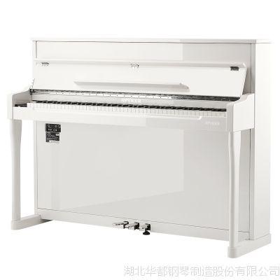 世爵智能数码电钢琴L116批发代理家庭教学88键重锤立式电钢琴