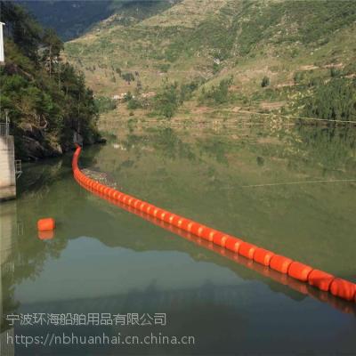 环保材质浮式拦污漂电站导污排供应
