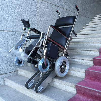家装轮椅升降台 残疾人爬楼机 轮椅电动爬楼车包头市启运销售厂家