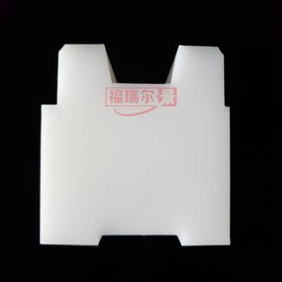 定做新型岩棉板设备超高分子量聚乙烯侧模块 超高分子量聚乙烯中三峰侧边封块厂家
