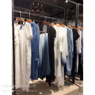 杭州茉然女装折扣品牌货源批发直销尾货库存多种款式多种风格