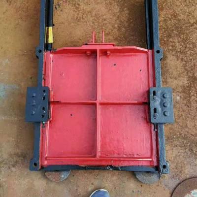 PGZ-1.5米止水闸门图片 单向铸铁闸门的工作原理 欢迎定制
