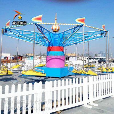 公园游乐设备厂家童星风筝飞行多渠道收入
