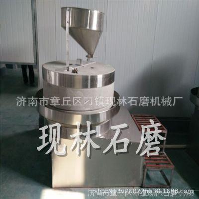 大型多功能滚筒式炒芝麻机 不锈钢燃气炒货机 现林石磨80型香油磨