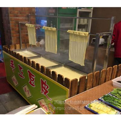 哪有卖生产豆油皮的机器 惠州酒店腐竹机设备 适用于酒店饭店使用 宏大科创