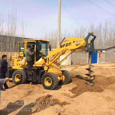 电线杆挖坑机型号 30铲车钻坑机报价 小型铲车挖坑机 天泽厂家直销