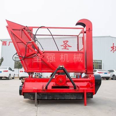 自动秸秆回收机厂家-秸秆回收机-圣强机械厂家