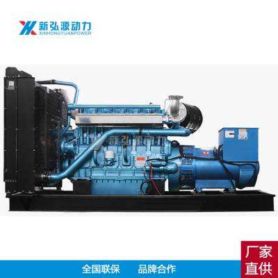 700KW潍柴发电机组 柴油发电机组厂家 700KW柴油发电机 纯铜无刷12M26D792E200W