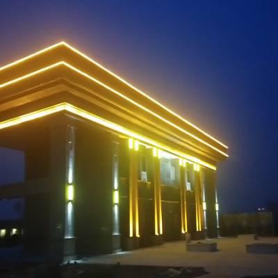 远大照明工程经验丰富(图)-楼体亮化设计-楼体亮化