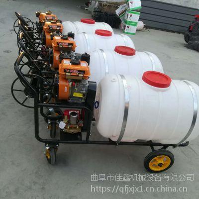 小麦专用高压打药机 佳鑫柴油动力消毒机 多功能打药车价格