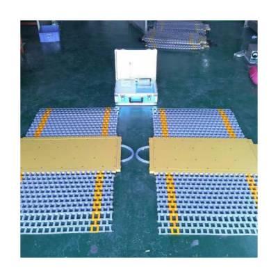 超限检测站轴重台_建力电测_高低速预检称重系统_地磅_公路