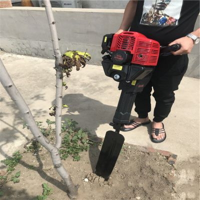移苗起树机 大直径柳树断根机 惠民大功率链条挖树起苗机