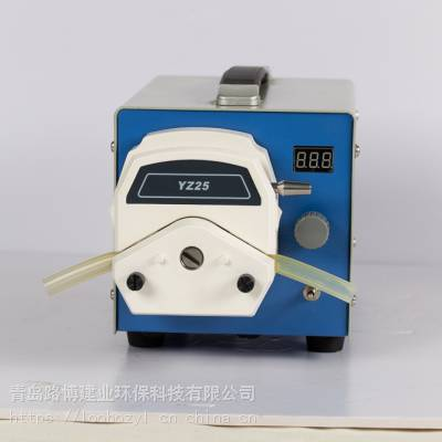 青岛路博LB-8000B可调节自动脱机水质采样器_环境监测站水质采样器制造商