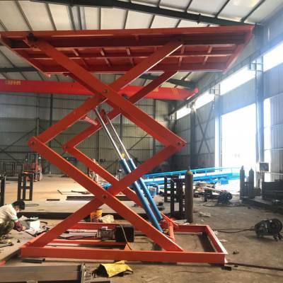 固定式升降机选济南6up传奇扑克  仓库运货升降机 垂直剪刀式升降货梯 源头厂家 支持定制