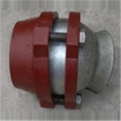 百川 管接头 2.5MPa卡箍式柔性管接头H型 DN600-D630卡箍式柔性管接头H型 厂家直销