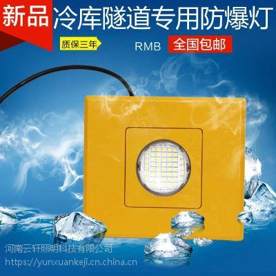 河南云轩照明 黄色方形隧道灯AC220V/36V50Wled防爆灯开挖台车灯