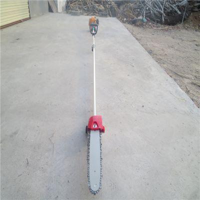 高枝锯视频 伸缩杆汽油高枝锯 方便实用修树机 润众