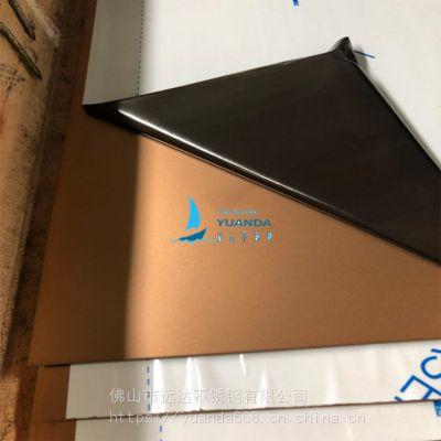 佛山304不锈钢古铜色喷砂板厂家不锈钢镜面喷砂板装饰尽在远达表面处理