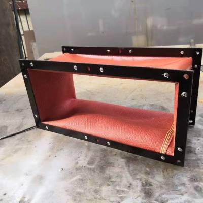 机床软连接 帆布风机排风管道 软管软接头 防火耐高温通风伸缩风管