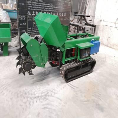 多功能履带开沟施肥机厂家 履带式开沟施肥机 遥控履带开沟机价格