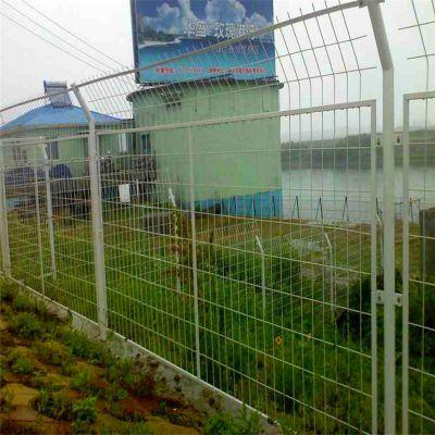 河道圈地护栏网 浸塑隔离网 厂区护栏网围网