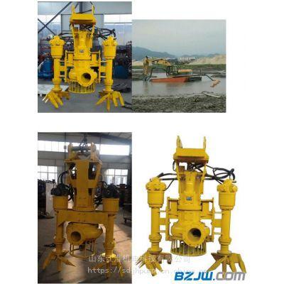 水陆两用抓机搅拌采砂泵 河床专用勾机疏浚泵优质服务 江淮泵业