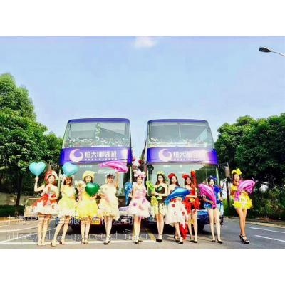都市观光巴士出租 上海双层巴士租赁 企业租广告巡游大巴 上海大巴租赁公司