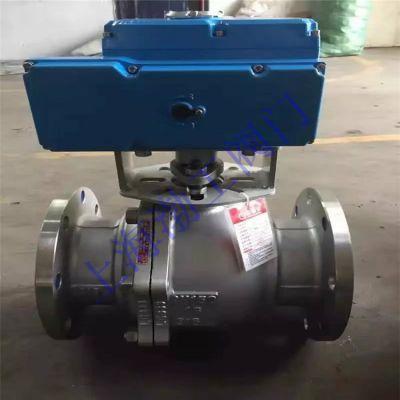 热销不锈钢法兰中高压球阀 电动不锈钢法兰球阀 Q941F-25P DN80