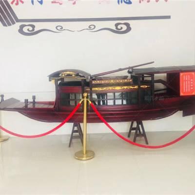 云南迪庆木船厂家定制2米仿古嘉兴红船