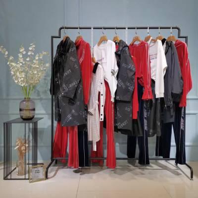 five plus女装 北京女装裙 品牌折扣都很旧 一二线品牌折扣剪标批发货源