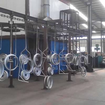 宏日机械(图)-喷塑流水线设备-潍坊喷塑流水线