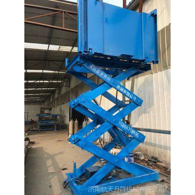 苏州客户定制翻转台面升降机 固定剪叉式升降货梯 3米处翻转