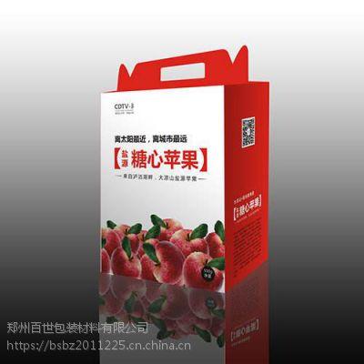 私人定制纸箱设计印刷独特 平顶山加工彩印水果手提的纸箱