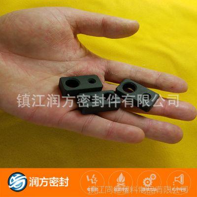 填充碳纤维四氟耐磨块 承接加工定制 可以承受比较高压强度耐磨损