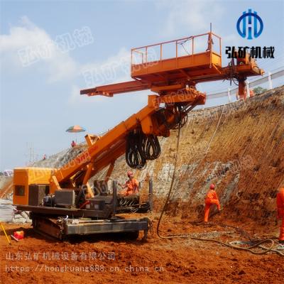 山体护坡锚杆钻孔机型号/基坑护坡全自动钻孔机厂