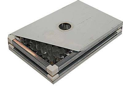 手工铝蜂窝夹芯板厂家-手工铝蜂窝夹芯板-大定净化板业