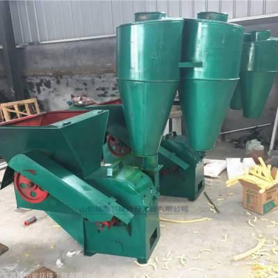 自动进料木材粉碎机 杂草秸秆粉碎设备 沙克龙破碎机