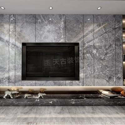 保利天汇装修,保利天汇130户型设计效果图,江北天古装饰地址